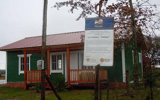 INTA Concordia promueve sistema de construcción con madera