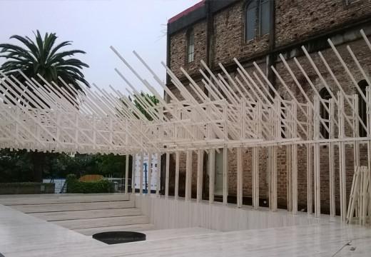 Construcción con Madera presente en Casa FOA 2014