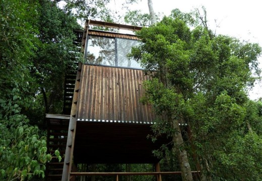 Construcción sostenible en Misiones, Argentina: Karadya Bio-reserva