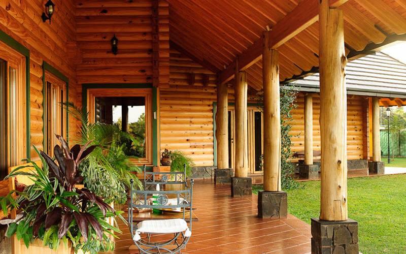 Vivienda de alta calidad con madera en argentina madera - Legislacion casas madera ...