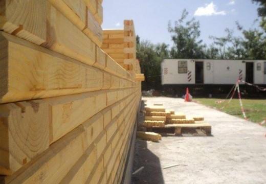 Ladrillos de madera, última tendencia en construcción