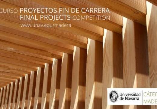 Inscripción para III Concurso Cátedra Madera