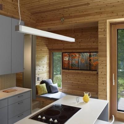 Arquitectura en madera moderna caba a de pinomadera y - Cabanas modernas ...