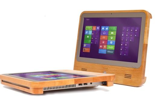 Europa: fabrican las computadoras más sustentables del mundo con estructura de madera