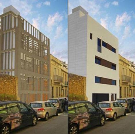 Comienza la construcción del edificio de madera más alto de Barcelona