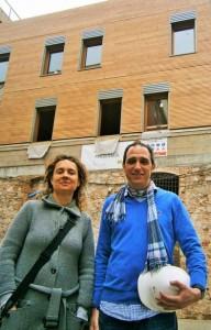 Mireia Valls y Sergi Barquest, artífices del proyecto.