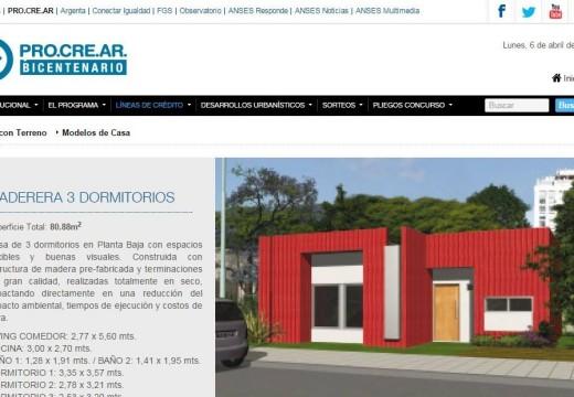 Excelente Noticia: Ahora El Plan PROCREAR brinda la opción de construir en madera