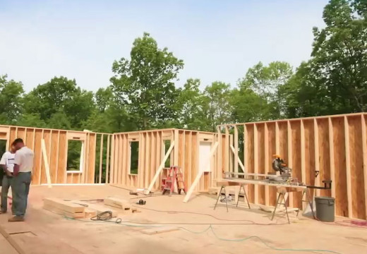 Impresionante: construcción en EE.UU. de vivienda de alta calidad con sistema BALLON FRAME de principio a fin.