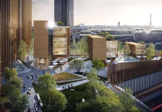 Francia: proponen en París el edificio de madera más alto del mundo
