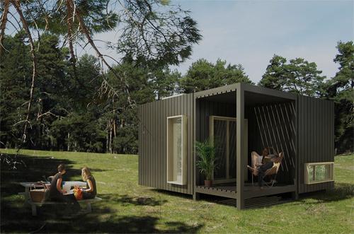 El arquitecto que plantó su casa en medio del bosque
