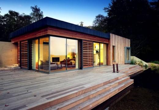Londres: diseñan vivienda bioclimática de estilo moderno.
