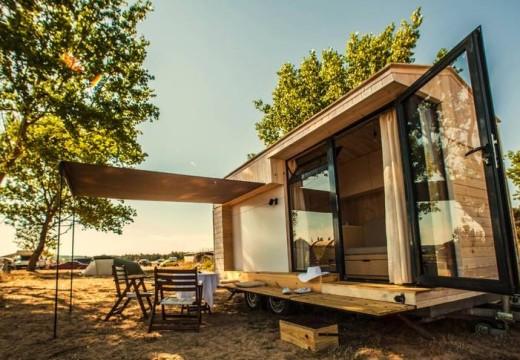 ¿Cómo hacer una casa rodante de madera?