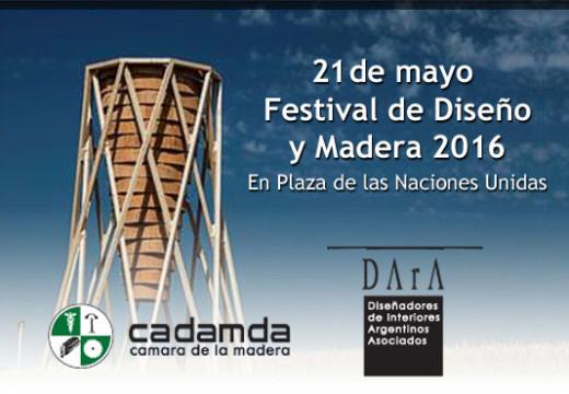 Buenos Aires: Festival de Diseño y Madera 2016
