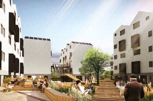Edificios de madera en Chile: se presentó ambicioso plan de viviendas sociales