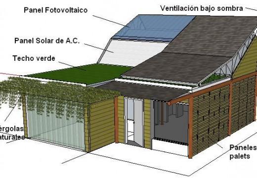 Argentina: con madera construyen en misiones, una vivienda bioclimática modelo para reducir el uso de energía.