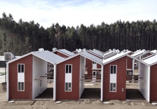 Chile: viviendas con estructura de madera (Platform Frame) como solución al déficit habitacional.