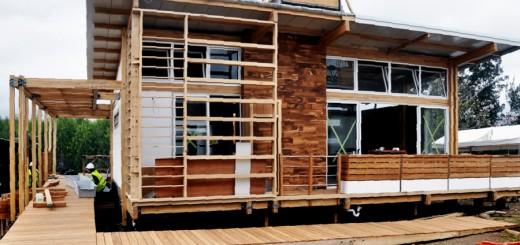Construcción sustentable: el uso de madera en obra contribuye a mitigar el cambio climático