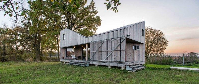 República Checa: diseño de vivienda rural bajo patrones de eficiencia energética, puede ser un modelo a seguir en Sudamérica.