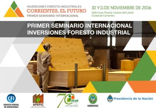 Corrientes, El Futuro. Primer Seminario Internacional 10 y 11 de noviembre