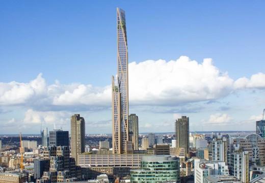 Londres, Reino Unido: construirán el rascacielos de madera más alto del mundo