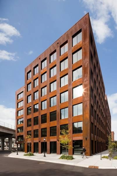 Se inauguró el edificio de madera más grande de Estados Unidos