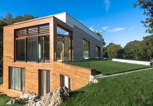 España: la madera se luce en una vivienda con la máxima calificación energética.
