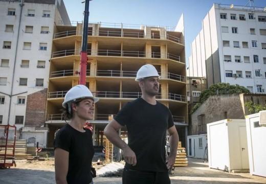 Déficit habitacional en España: una cooperativa avanza con el edificio de madera más alto del país y propone un novedoso sistema de adjudicación de viviendas