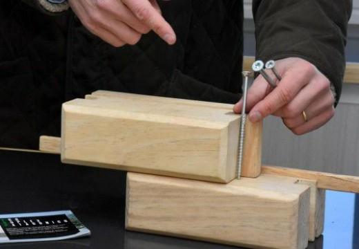 Argentina: desde Río Negro proponen el sistema de ladrillo de madera para construir viviendas sociales.