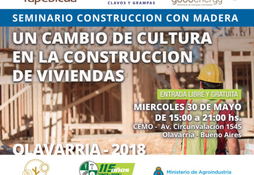 Nuevo Seminario Gratuito en Olavarría sobre Construcción con Madera