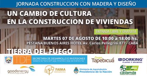 Jornada sobre Construcción con Madera y Diseño – Buenos Aires y Tierra del Fuego