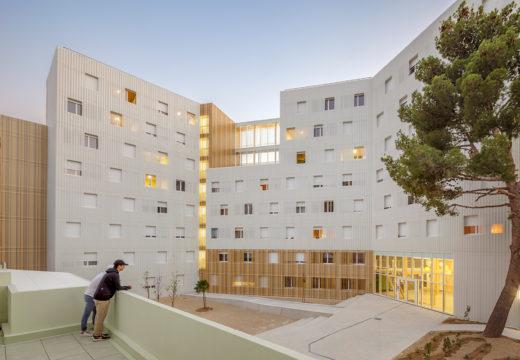 FRANCIA. Construyen edificio de madera de 8 pisos como residencia para estudiantes.