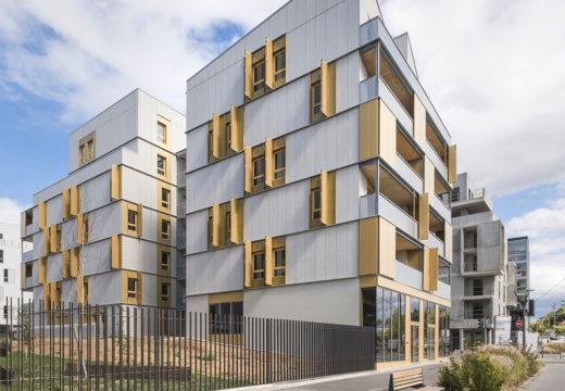 FRANCIA. Inauguran complejo de viviendas sociales construido en madera y el estudio gana el premio de arquitectura nacional