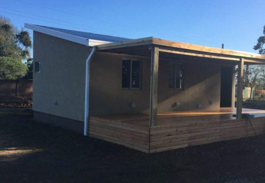 Argentina. Prototipo de vivienda social con sistema de entramado ligero de madera