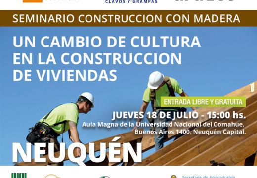 NEUQUEN – Seminario Construcción con Madera – Un Cambio de Cultura en la Construcción de Viviendas – CADAMDA