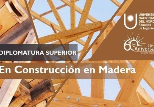 Diplomatura Superior en Construcción en Madera