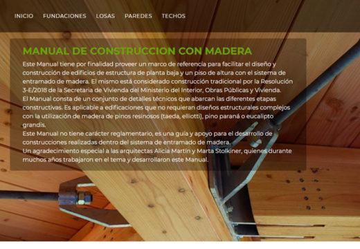 Se presentó el primer Manual Argentino Abierto sobre Construcción con Madera