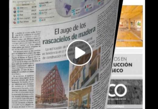 """Repercusiones de CADAMDA en la prensa – """"Los edificios y rascacielos de madera"""""""