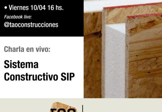 Nueva charla sobre sistema constructivo SIP – TAO Paneles – 10/04