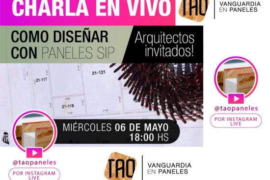 Charla en VIVO – Cómo diseñar con paneles SIP – 6 de mayo 2020 18 hs.