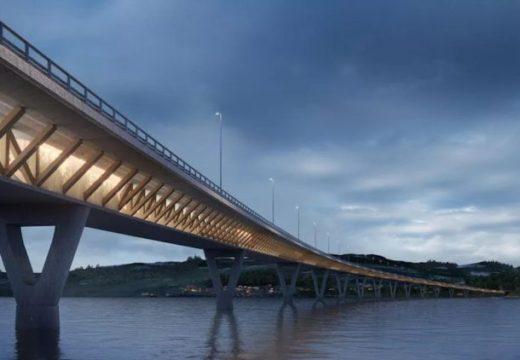 Noruega construirá el puente con madera estructural más largo del mundo