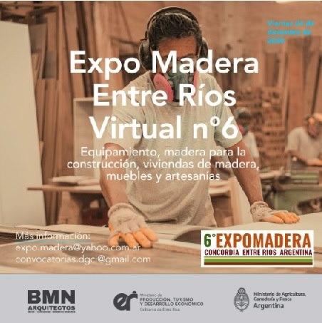 Llega pronto la 6ª edición de Expomadera Entre Ríos y el 4º Salón de la Vivienda de Madera + 6º ExpoArquitectura y ExpoDecoración.