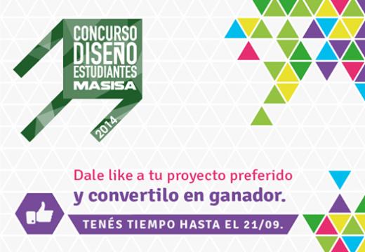 Masisa invita al público a votar su proyecto favorito del Concurso de Diseño para Estudiantes 2014