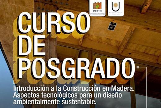 Posgrado. Introducción a la Construcción en Madera.