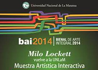 MASISA acompañará a Milo Lockett en la Bienal de Arte Integral de la Universidad Nacional de La Matanza