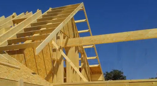 Proceso constructivo de una casa de Madera de 340 m2