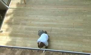Profesionales de la madera construyen un deck en EEUU. Proceso completo (construcción y tratamiento).
