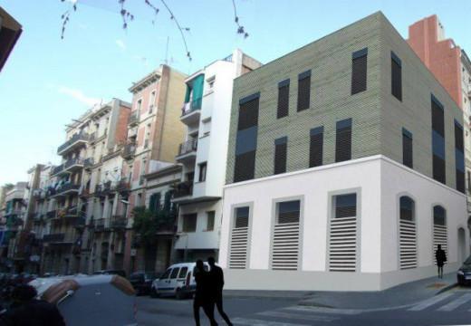 Comienza en España la construcción del primer edificio con estructura de madera