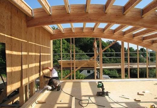 Vigas multilaminadas de madera: El Futuro de La Construcción