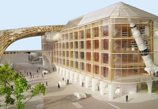 Las prestigiosas marcas relojeras suizas OMEGA y SWATCH proyectan inaugurar este año un ambicioso proyecto en madera