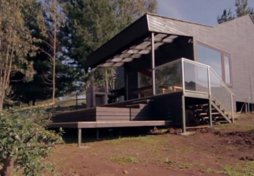 Chile: hotel en madera de pino, una de las construcciones más sostenibles del mundo.